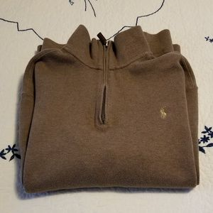 Brown 100% Cotton Polo by Ralph Lauren Sweater